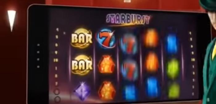 Starburst Mobile Spielautomat